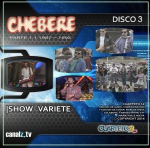 CHEBERE - SHOW VARIETE DISCO 3 (2014)