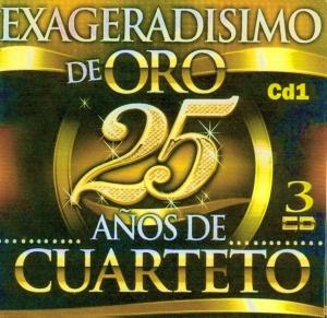 EXAGERADISIMO DE ORO - 25 AÑOS cd 1 01