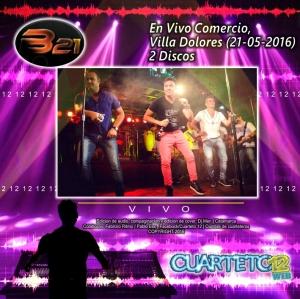 BANDA XXI - EN VIVO COMERCIO, VILLA DOLORES (21-05-2016)
