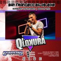 Q' LOKURA - EN VIVO SAN FRANCISCO (24-05-2019) 2 Discos